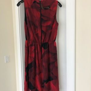 Alice + Olivia Red Floral Dress